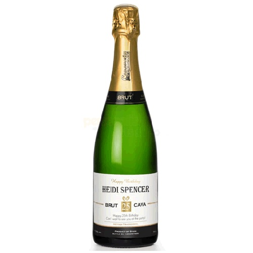 Personalised Luxury Birthday Cava  from Personalised Gifts Shop - ONLY £24.95