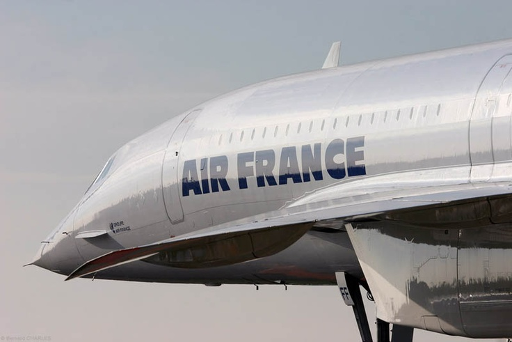 "Concorde: ""Deja vu.""     Air France."