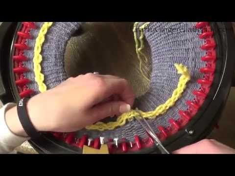 ▶ How To Make a Brimmed Hat on addi Express King Size Knitting Machine - YouTube