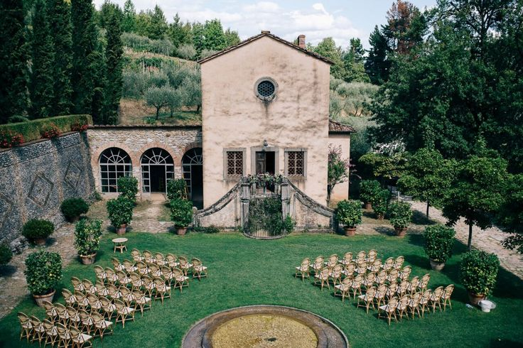 A Tuscan Vineyard Ceremony / Mia & Paolo's Real Wedding / The LANE