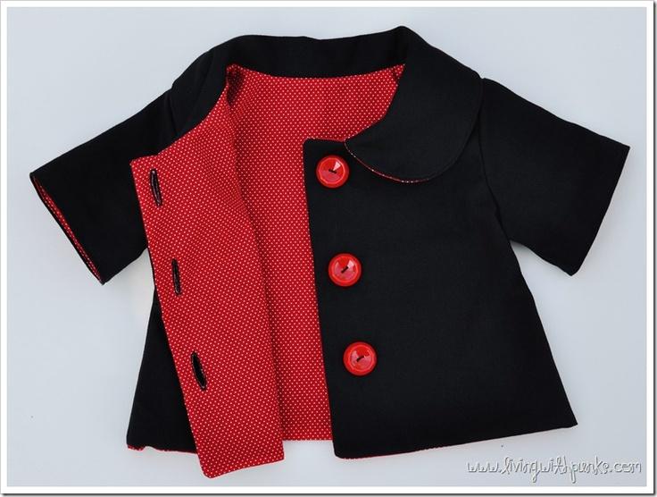 Violet Field Threads Pattern Molly Jacket