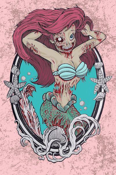 La Taberna del Viajero - Página 10 260b05346041336b128074885852fe0a--zombie-princess-disney-princess