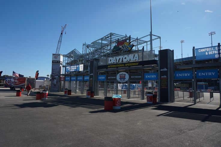 Daytona International Speedway Florida.