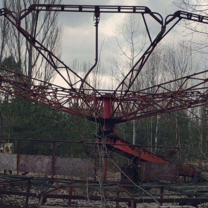 Spooky goings-on at Chernobyl today #chernobyl #pripyat