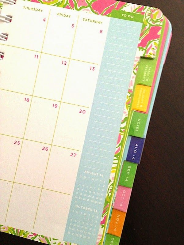 Best Como Organizar Tu Agenda Images On   Notebook