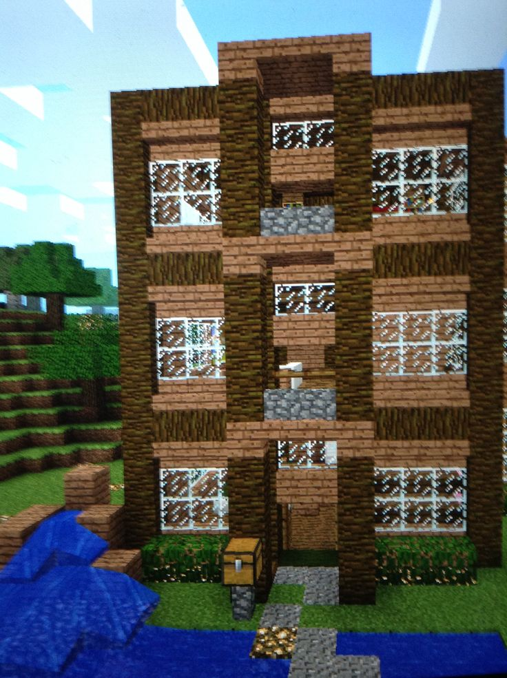 Mine craft house