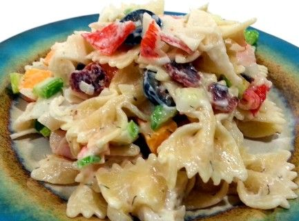 Bacon and Cheese Seafood Pasta Recipe | Just A Pinch Recipes