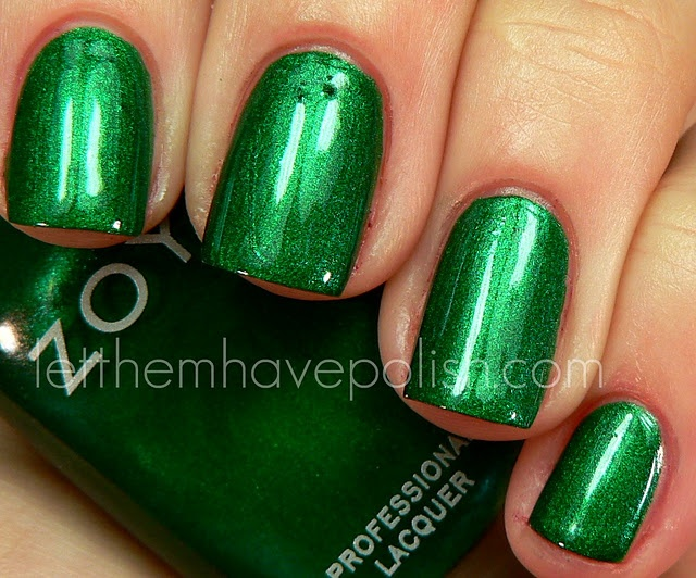 french tips witth this green