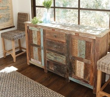 Shabby Chic Vintage Sideboard eclectic buffets and sideboards