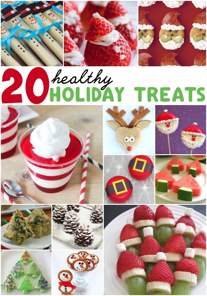 Holiday healthy treats