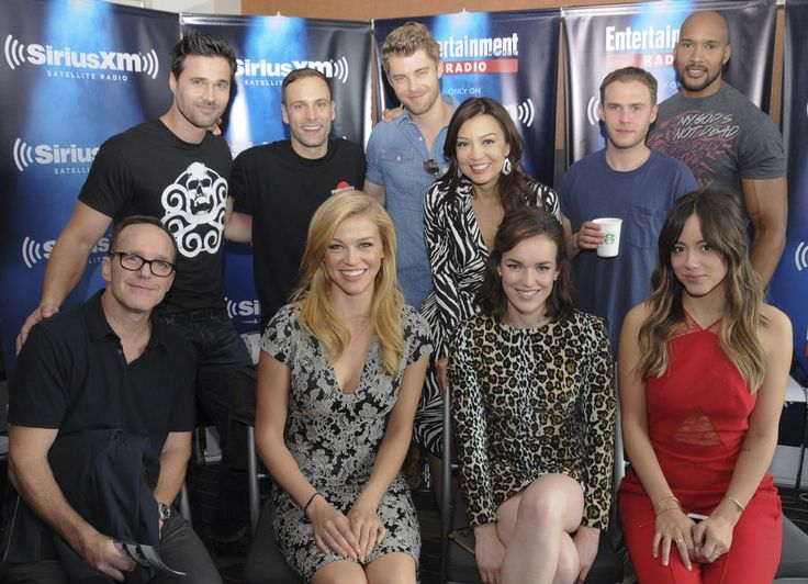 Agents of SHIELD cast   #SDCC2015
