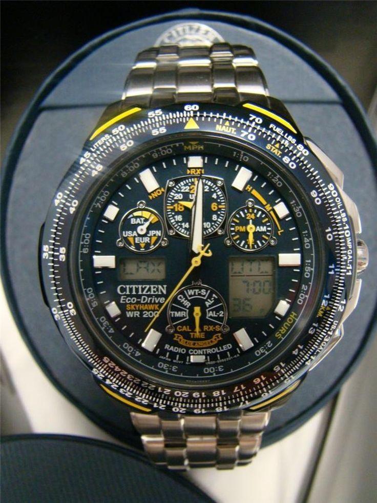 Citizen EcoDrive JY004059L Wrist Watch for Men Blue