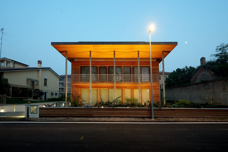 la casa ecologica in legno