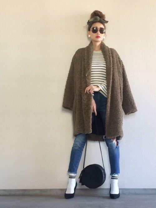 Yukie♡i│ISABEL MARANT ETOILE Outerwear Looks - WEAR