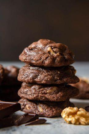Best Fudgy Chewy Chocolate Brownie Cookies – #Brow…