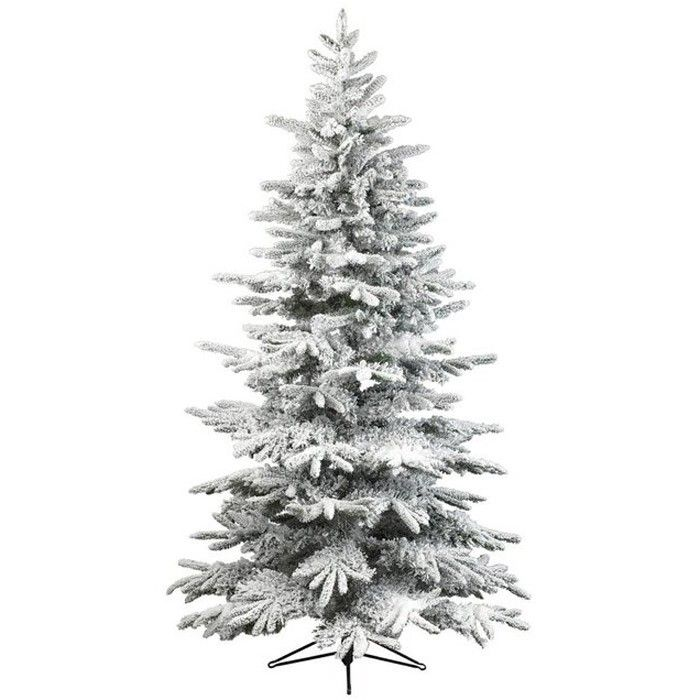 <p>This beautiful Snowy Alaskan Christmas Tree designed by Everlands will give your home that winter wonderland feeling this Christmas. A simple design with an effective fallen snow flocked finish which will delight family and friends with it's authentic appeal. The realistic flocked snow covering ensures you will feel all the benefits of a real Christmas tree without the mess! </p>