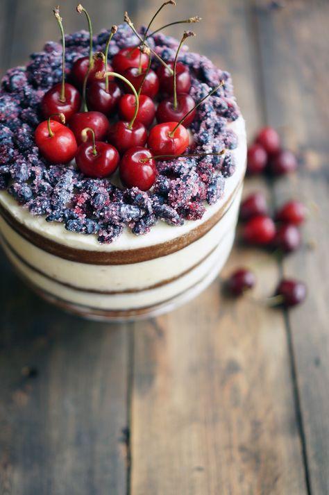 Имбирный голый торт с ягодами, пошаговый фото рецепт, кулинарный блог и интернет-магазин с доставкой по России, andychef.ru