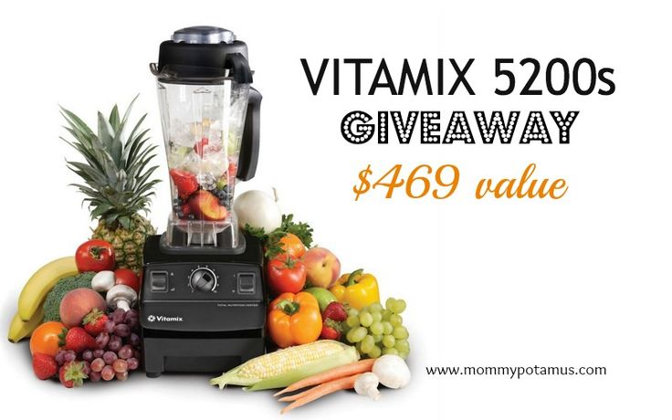 vitamix giveaway at the @Mommypotamus blog.  boy do i wish i could win.  my cuinsart blender broke :(