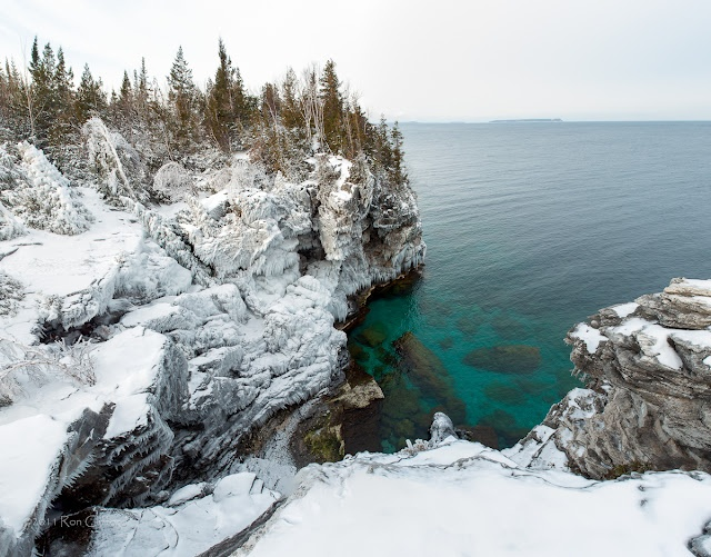 The Bruce Peninsula Winter Photography Adventure Workshop    Reminds me of Tobermory & summertime.