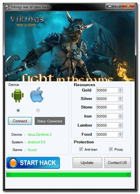 Vikings War Of Clans Hack – iOS/Android good Cheat Engine for Gold