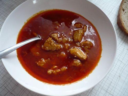 Recept na vepřový guláš
