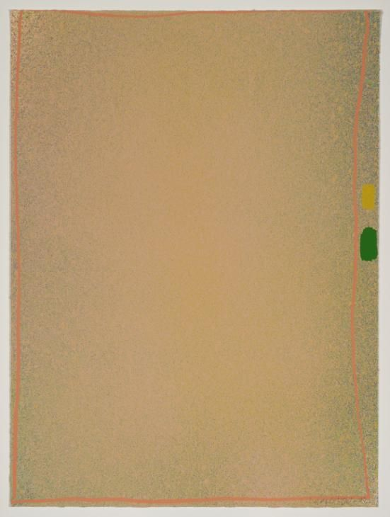 Jules Olitski 'Yellow-Green I', 1970 © Jules Olitski/VAGA, New York and DACS, London 2016