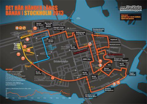 Midnattsloppet Stockholm har en ny bana | Runner's World