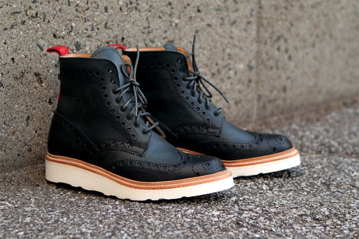 Image of Ronnie Fieg x Grenson 2013 Capsule Collection #sneakers