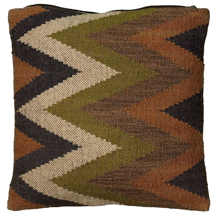 Rizzy Home T05838 Woven Southwestern Patten Decorative Pillow, 18 by 18-Inch, Green >>> Check out the image by visiting the link. (This is an affiliate link and I receive a commission for the sales)