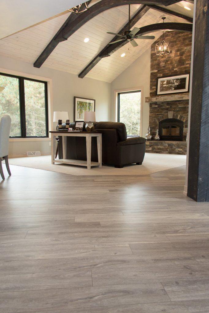 Flooring Luxury Vinyl Plank, Evoke, Brooke; Carpet