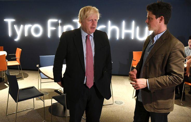 FOX BIZ NEWS: UK's Boris Johnson welcomes Australian tech entrepreneurs