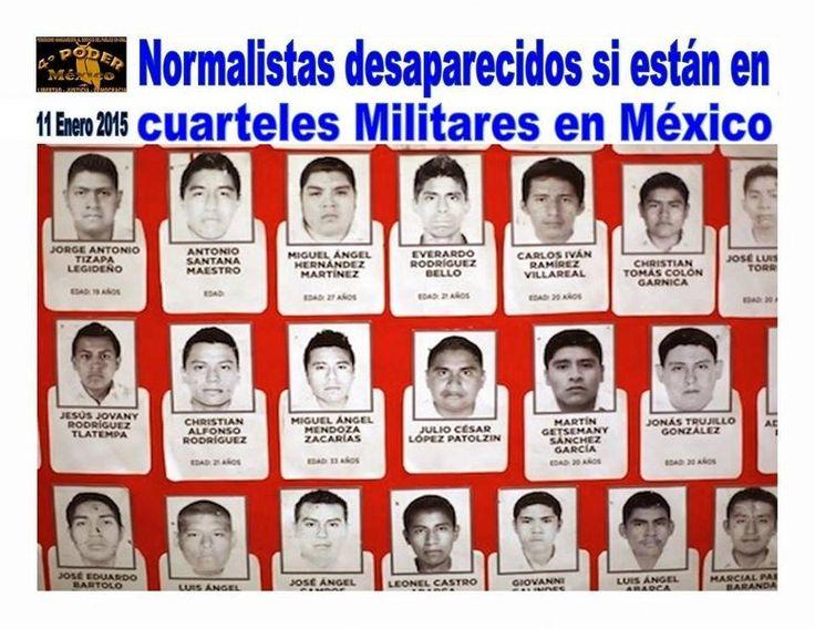 Delincuencia organizada defiende al Ejército Mexicano para que ya no busquen en cuarteles a Normalistas