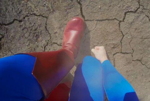 Une vidéo de Superman avec une GoPro