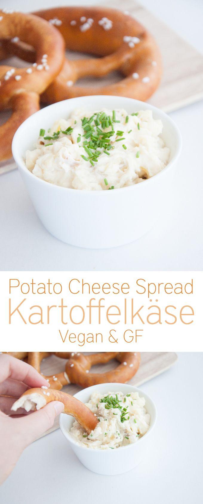 Kartoffelkäse - Potato Cheese Spread