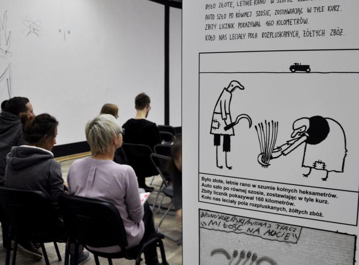 Great exhibition in Art Gallery Bunkier Sztuki! Our partner during Festival Zaprojektowani. #zaprojektowani #designschool