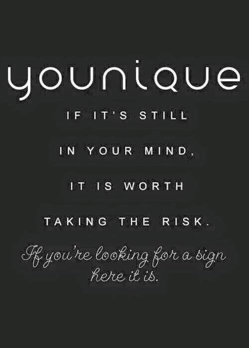 Younique opportunity to join or sign up as a presenter.