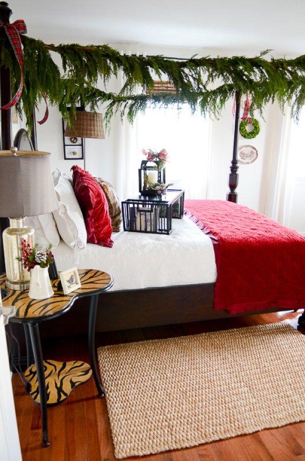 309 best Christmas Bedrooms images on Pinterest Bedroom Live
