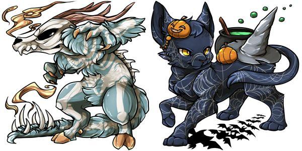"""""""Skeleton"""" Wendigo & """"Spider Web"""" Majouneko"""