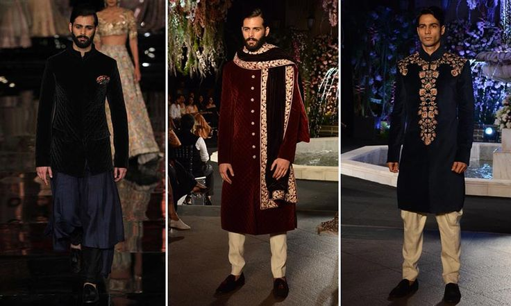 Grooms outfits by Manish Malhotra