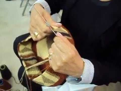Aboriginal Arts, LLC Demonstrates Wayuu Mochila Weaving Process - YouTube