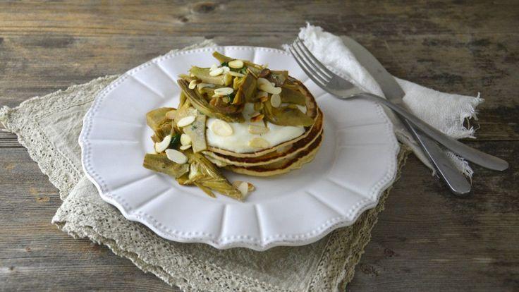 Tradizionale nella colazione e brunch del Nord America, i pancakes, questa sorta di crèpe.