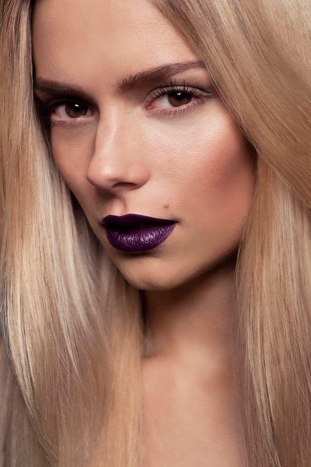 Très Les 25 meilleures idées de la catégorie Rouge à lèvres violet sur  RB67