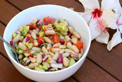 Liv Life: White Bean Salad with Lemon Vinaigrette Recipe