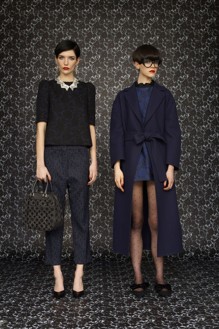 Fall winter 2013 fashion trends for women - A Look From The Louis Vuitton Women S Prefall 2013 Collection Click To See Them All