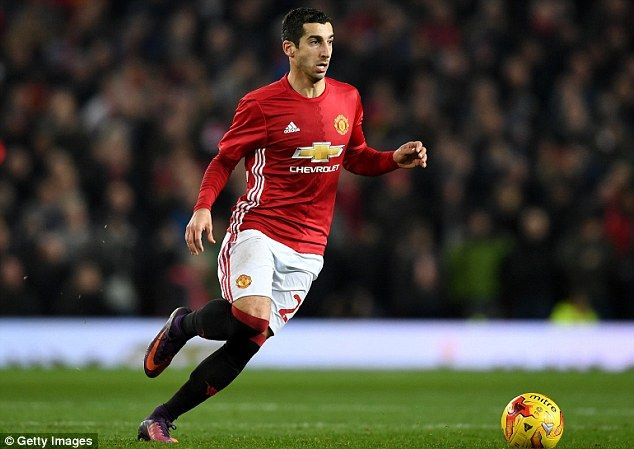 Mkhitaryan put in a man of the match performance at Old Trafford on Wednesday night