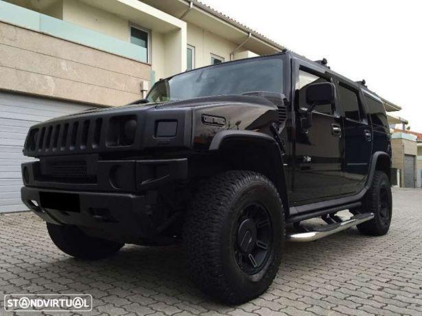 Hummer H2 Luxury V8 6.0 Black Out preços usados