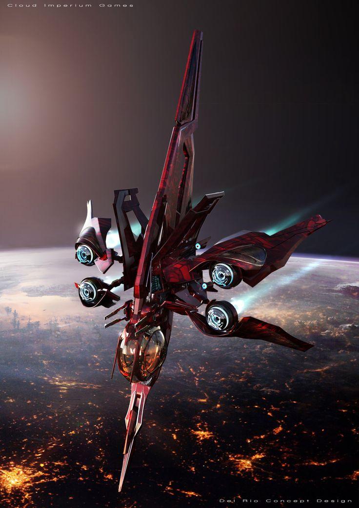 ArtStation - starship, Eddie Del Rio