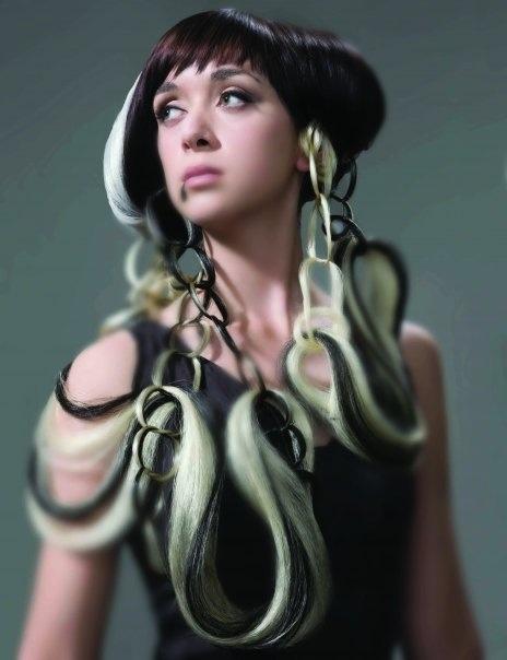 Avant Garde Hair Black And White Hair By Natalia Petcu