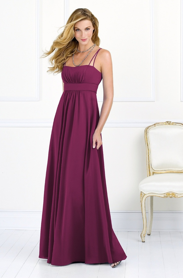 of honor hair styles after six bridesmaid dress weddington way in ruby 8299