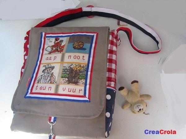 Tas voor school, leerkracht, mama's?  (Naar uw keuze stof/uitvoering/grootte te maken: www.creacrola.nl)
